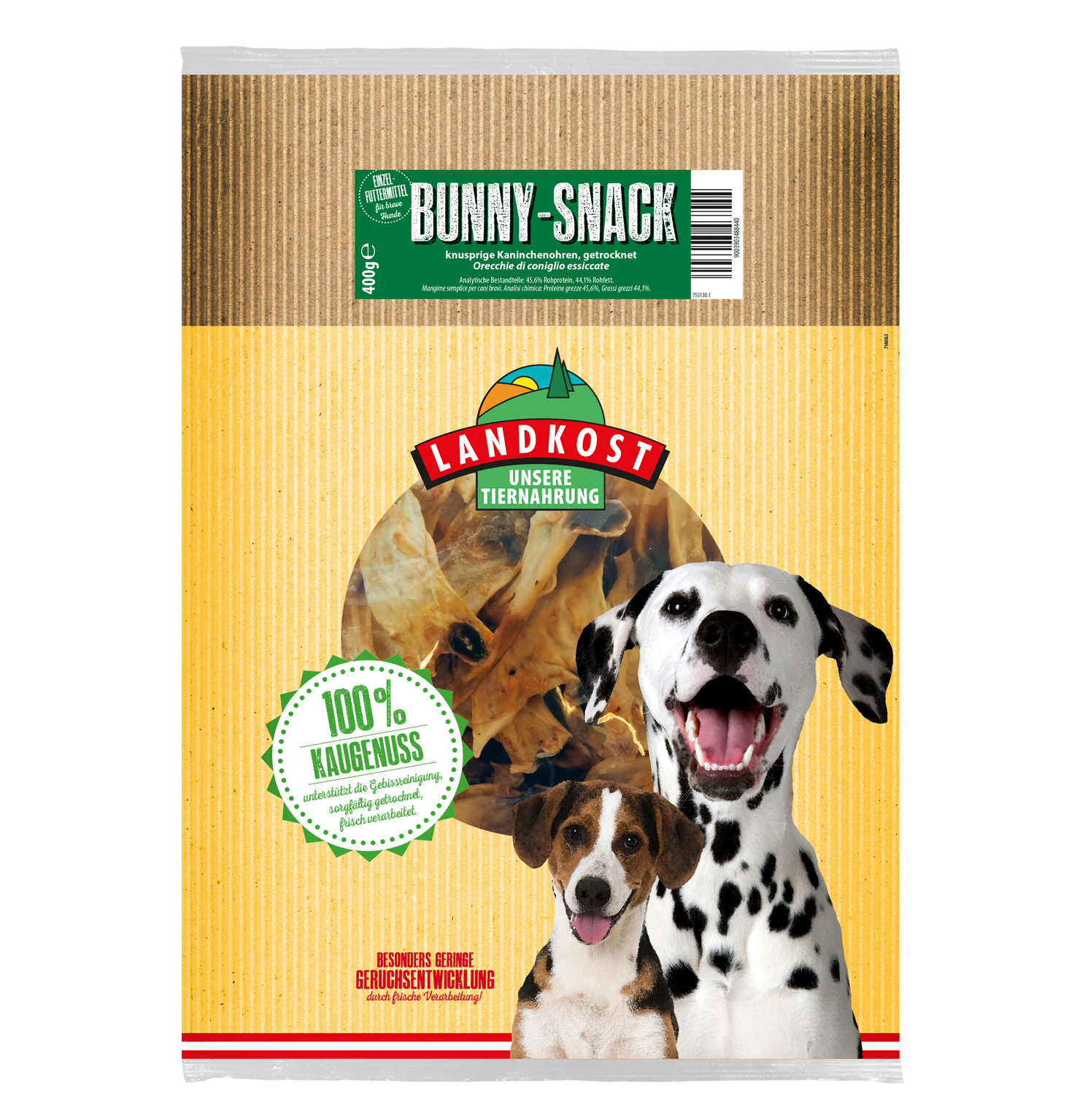 Bunny-Snack Grosspackung 400g