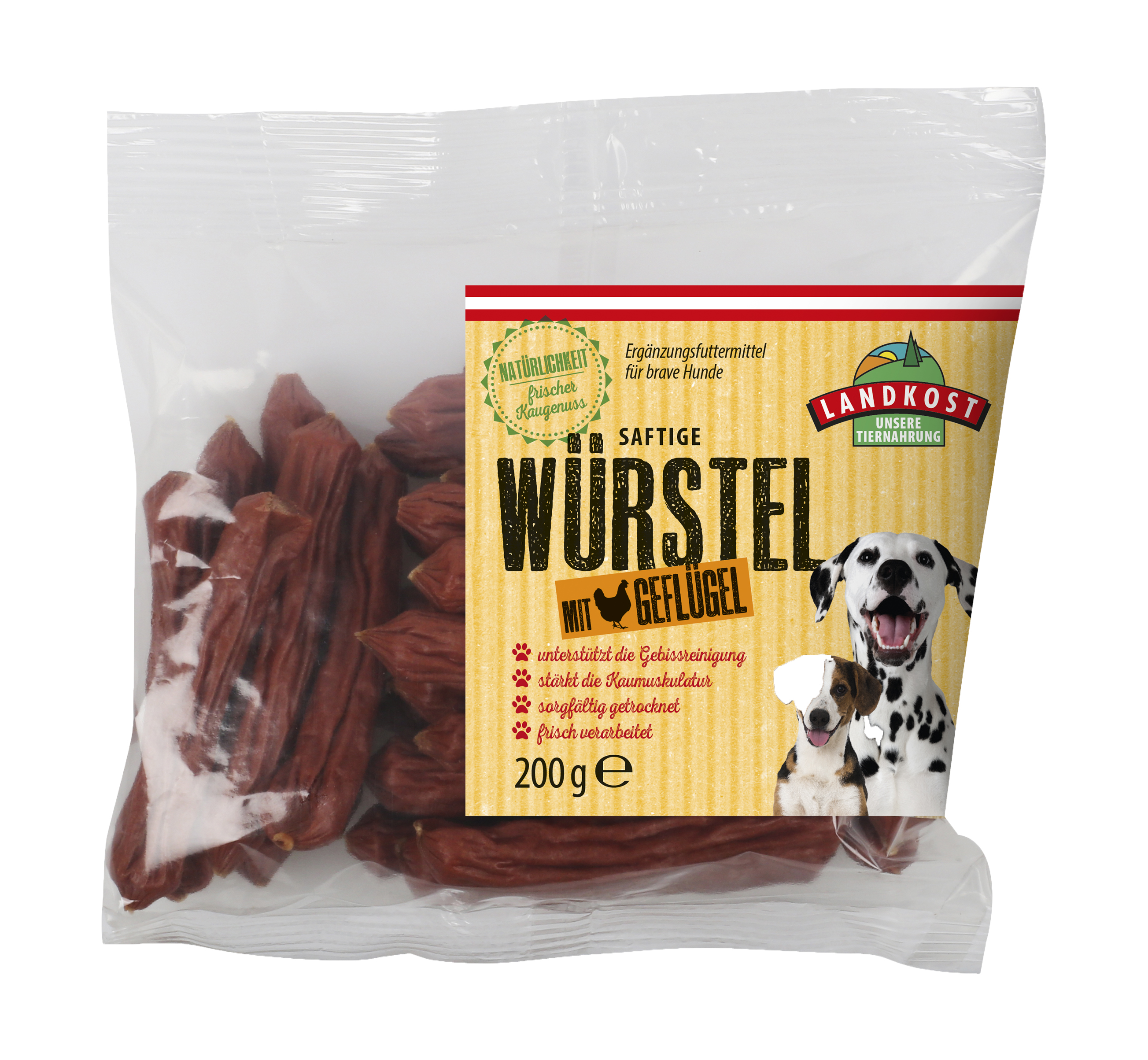 dried poultry sausages 200g